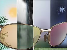 3 Ways To Choose The Right Sunglass Lens Color Wikihow