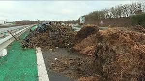 Les retours de week-end perturbés sur l'A64 par des manifestations  d'agriculteurs