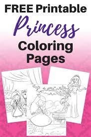 Princess coloring sheets for toddlers & little girls as well as princess coloring pages for teens. 25 Free Printable Princess Coloring Pages The Artisan Life