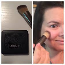 makeup geek brushes review step two next i apply kat von d everlasting face shaper blush