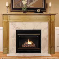 wood fireplace mantel kits