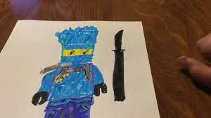 Drawing Jay FS from LEGO Ninjago Season 11 - YouTube