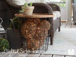 lighted side table 2