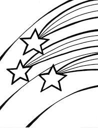 Small Picture Shooting star coloring pages