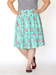 Simple Skirt Pattern Delectable The Everyday Skirt Simple Sewing Tutorial It's Always Autumn