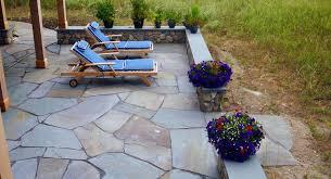 backyard bluestone patio
