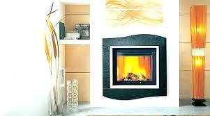 gas fireplace insert with glass rocks ga rock gas fireplace insert glass rocks