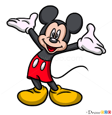 Mickey Mouse Girl Drawing (Page 1) - Line.17QQ.com
