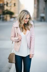 pale pink leather jacket emily herren champagne and chanel emily herren champagne and chanel emily herren champagne and chanel emily herren champagne and