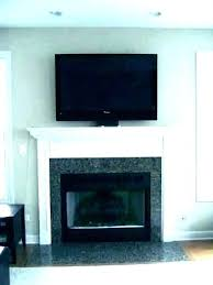 tv mounted over fireplace ideas ideas for mounting mounting over fireplace above fireplace hiding wires wall