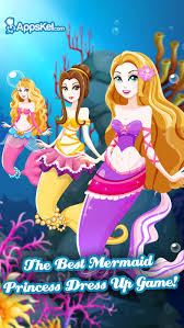 white salon mermaid s dress up princess makeover games for free