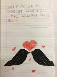 I giorni della merla   Merlo, Le idee della scuola e ...