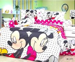 mouse twin bedding set girls popular comforter from china minnie bed get ation
