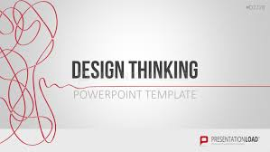 presentation template designs design thinking powerpoint template