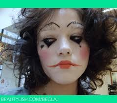 pierrot clown makeup