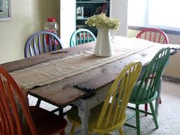 Barn Door For Kitchen Remodelaholic Old Barn Door Recycled Into Kitchen Table