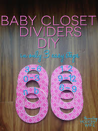 baby closet dividers this baby closet dividers diy project from the vintage modern wife is so