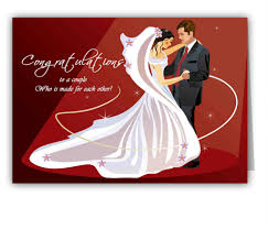 wedding wishes gift card