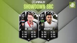 How to complete De Jong & Rodrygo FIFA 21 Showdown SBC: solution & cost -  Dexerto
