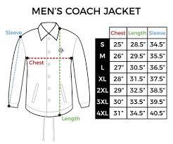 Mens Jacket Size Chart Size Chart Mens Coach Jacket Inkaddict