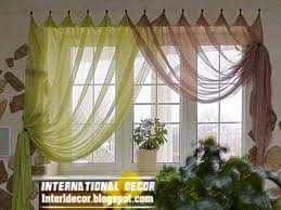 Home Decor Ideas Contemporary Kitchen Curtain Ideas 40 Bright Beauteous Kitchen Curtain Ideas