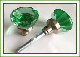colored glass door knobs. very impressive oversize real solid green glass astoria knobs vintage type door colored l