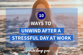 unwind after a stressful day png