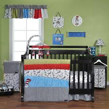 trend lab dr seuss cat in the hat 3 piece crib bedding set