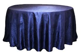navy blue tablecloth sequin round gingham roll chevron plastic