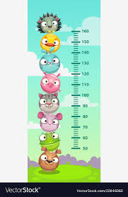 Height Chart Pictures Kids Height Chart Wall Metter With Funny Cartoon