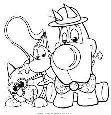 Disegno Minicuccioli 2 Misti Da Colorare