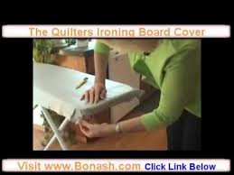 Quilters Ironing Board Cover. - YouTube & Quilters Ironing Board Cover. Adamdwight.com