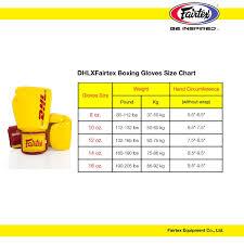 Dhlxfairtex Boxing Gloves