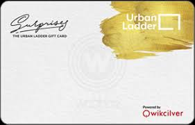 Urban Ladder E-Gift Cards – Instant Delivery   Woohoo.in