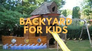 Backyard Ideas For Kids | Backyard Fun Ideas
