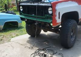 chevy k10 truck restoration phase 3 front clip swap dan·nix my advice for wiring up the headlights i m going from two headlights for low and high beam to a single headlight for both is to use the socket from the