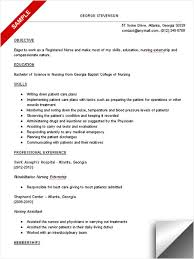 Professional Objective For Nursing Resume Nurse Resume Objective Nursing Objectives Clinical For 44