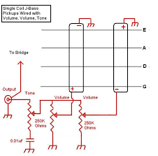 pickup wiring single pickup bass wiring diagram Single Pickup Bass Wiring Diagram #20
