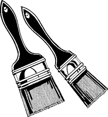 paint brushes clip art. coloring pages of paint brushes · clipart ? practica technical clip art