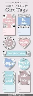 Just print a smaller size and tape (or tie) the label around each candy/gift. Printable Valentine S Day Gift Tags