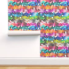 Wallpaper Color Chart Hexagons