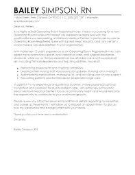 Nursing Job Cover Letter Cover Letter For Nurse Job Cover Letter
