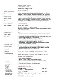 Sample Resume For Ccna Certified Download Support Engineer Sample