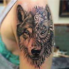 Tag Someone That Would Like This Wolf Tattoo Tattoos Follow
