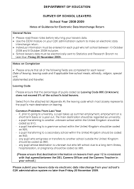 School Leaver Resume Template School Leaver Resume Examples Resume