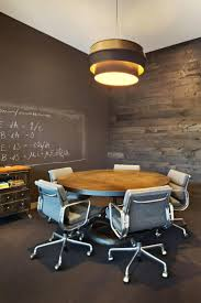 small office conference table. Interesting Office By Boor Bridges Design Chalkboard Walls Within Meeting Room Very Residential Style Small Round Conference Table