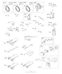 Briggs and stratton 295347 0121 g1 parts diagram for alternators