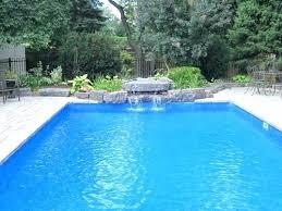 inground pool waterfalls. Pool Waterfalls Waterfall Swimming Rock Slide For Inground Pools .