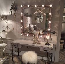 Makeup Vanities For Bedrooms With Lights Awesome Bedroom Makeup Vanity With Lights Vanities White Table