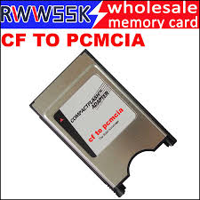 Chất Lượng Cao CF Để PCMCIA Thép Không Gỉ Nhà Ở Bên Trong 68 Pin PCMCIA  Compact Flash Adapter Đọc Cho Laptop Fanuc CNC|Bộ Chuyển Thẻ Nhớ